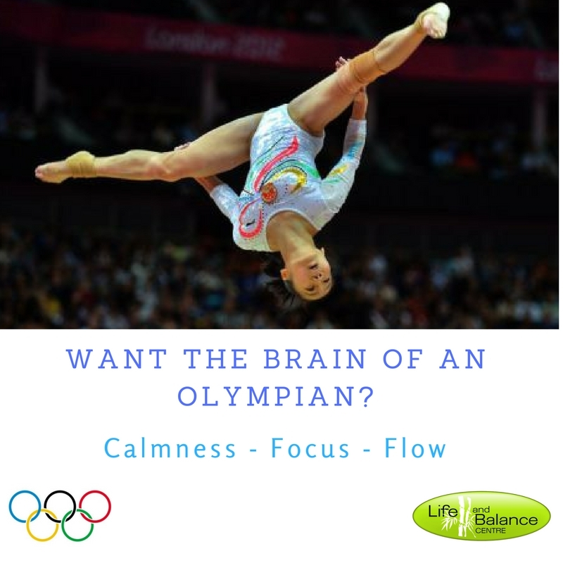 Want the brain of an Olympian?