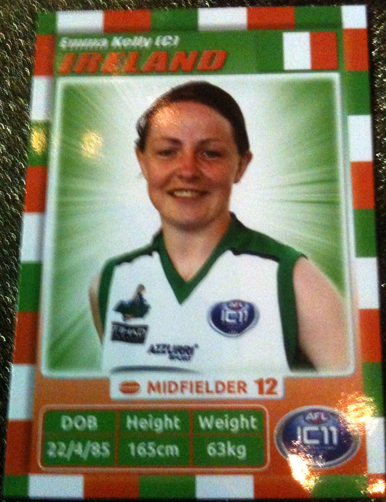 Emma Kelly Irish Banshees AFL